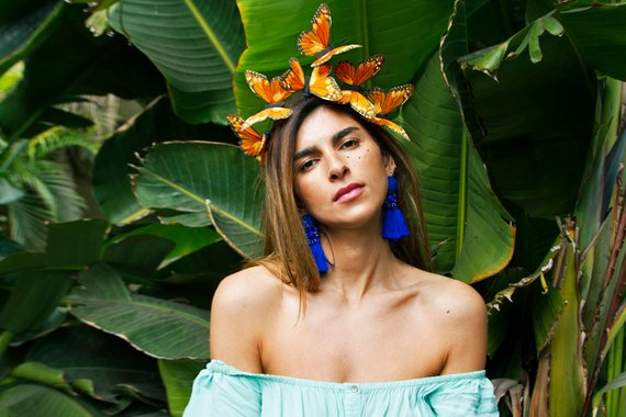 Oaxaca Butterfly Crown By VivaDelfina