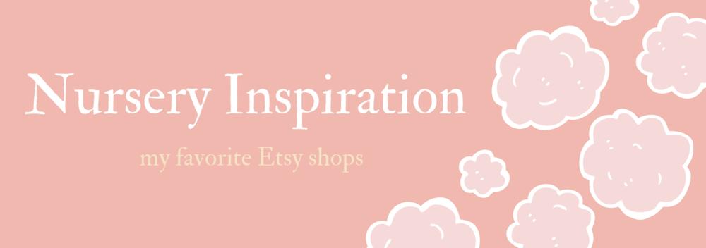 Nursery Inspiration Etsy Shops