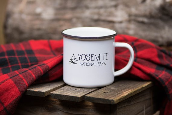 Yosemite Campfire Mug By MorningRushDesigns