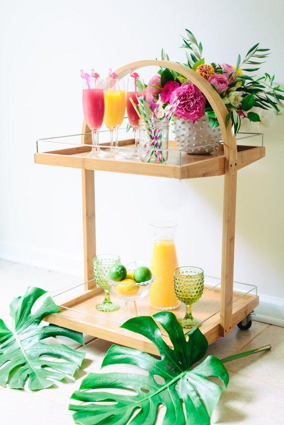 Flamingo Drink Stirrer By JennandJulesDesigns