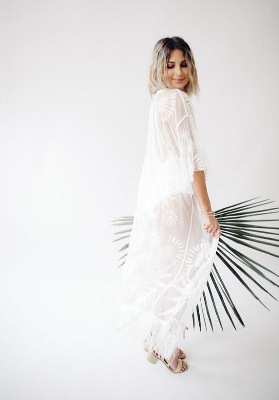 Lace Kimono By SamanthastokesBridal
