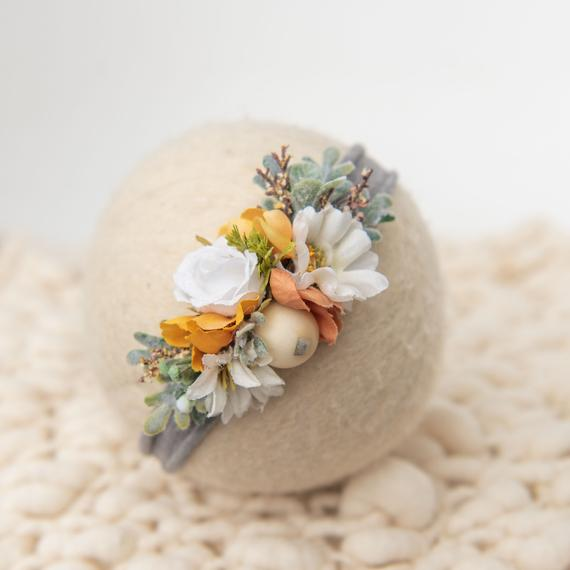 Autumn Fall Vintage Headband By HeyBabeProps