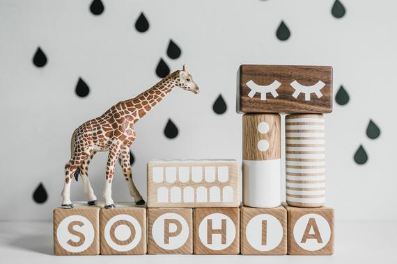 Personalized Stacking Blocks By OKGOPLAY