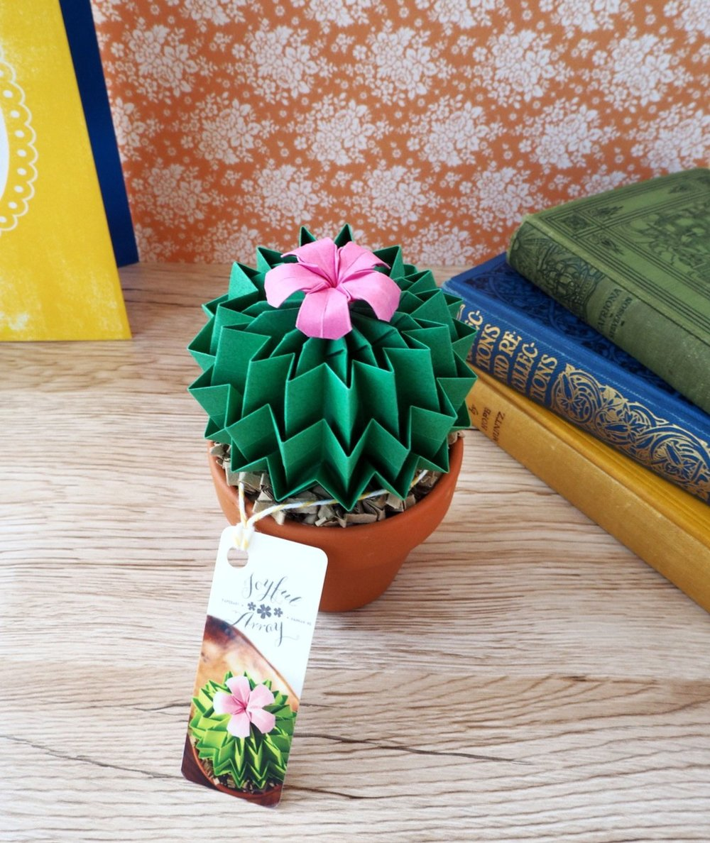 Origami Paper Cactus By JoyfulArray