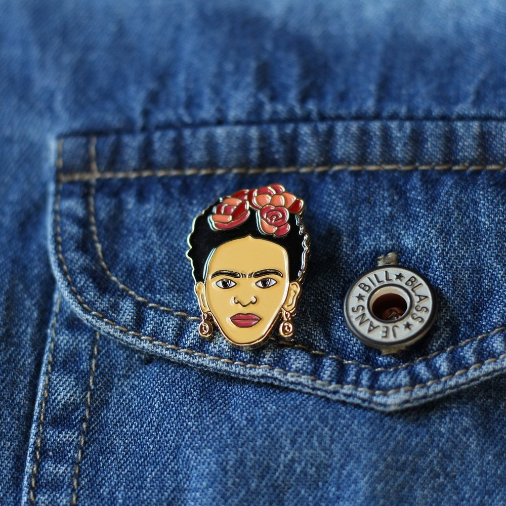 Frida Enamel Pin By RealSicStuff