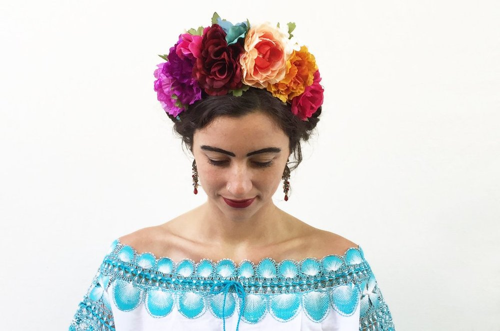 Mexican Flower Crown By BloomDesignStudio