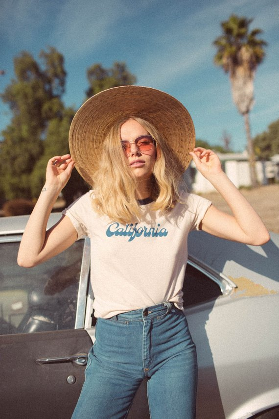 California Tee By The Bee & The Fox