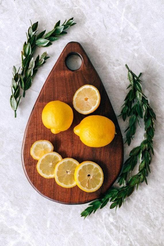 Tear Drop Cutting Board By CBYMCREATIVE
