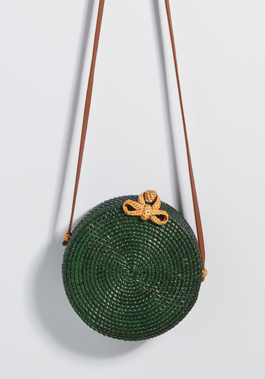 Make the Rounds Crossbody Bag By ModCloth