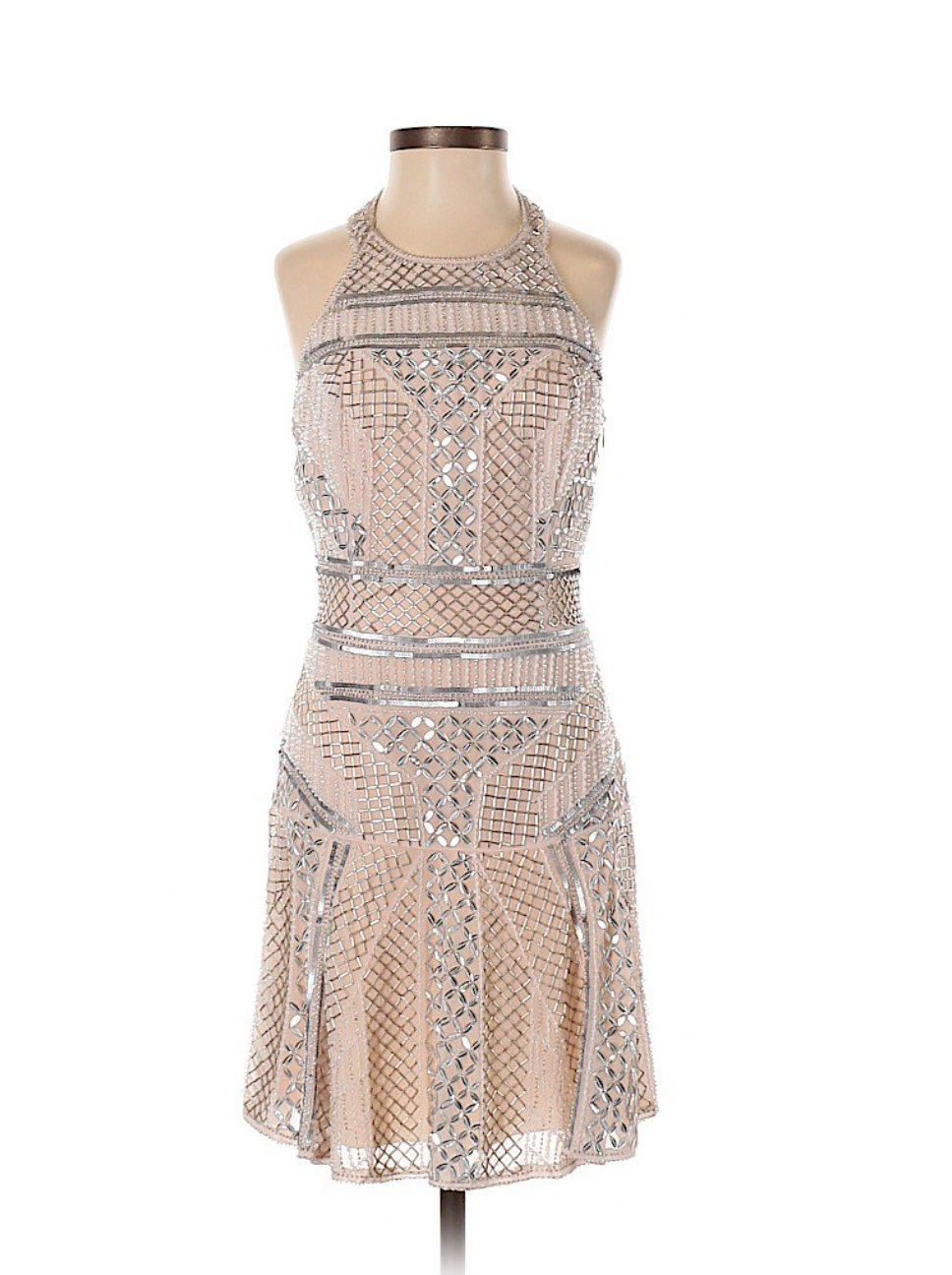 Parker Beaded Cocktail Dress By ThredUp
