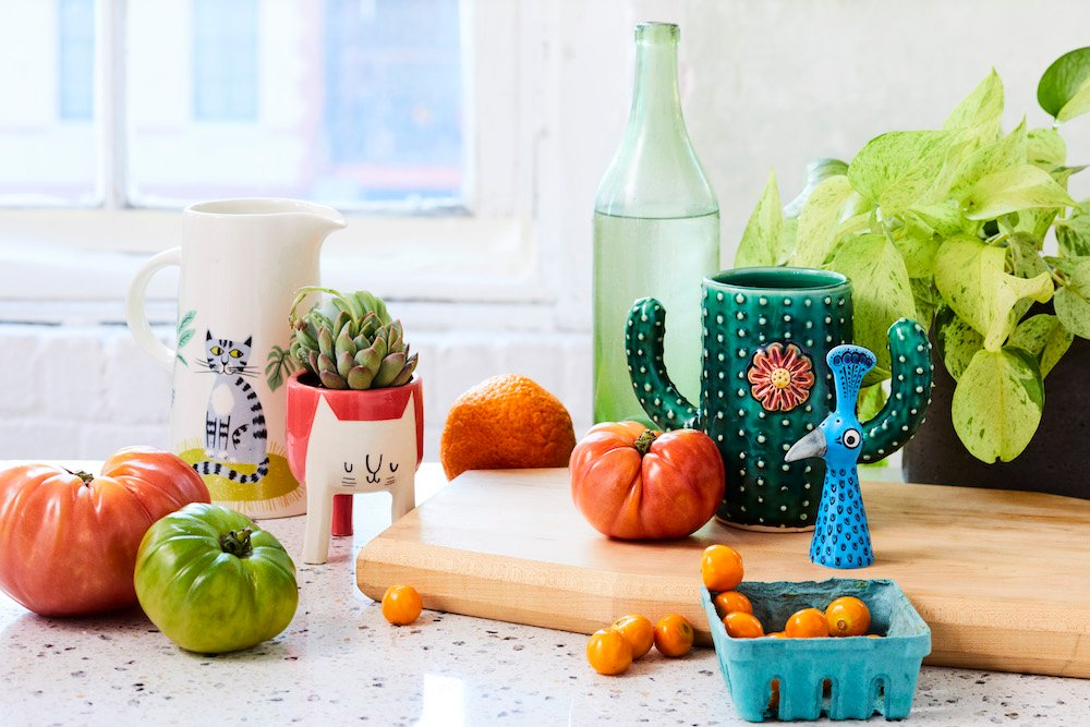 Colorful Home Ceramics on Etsy