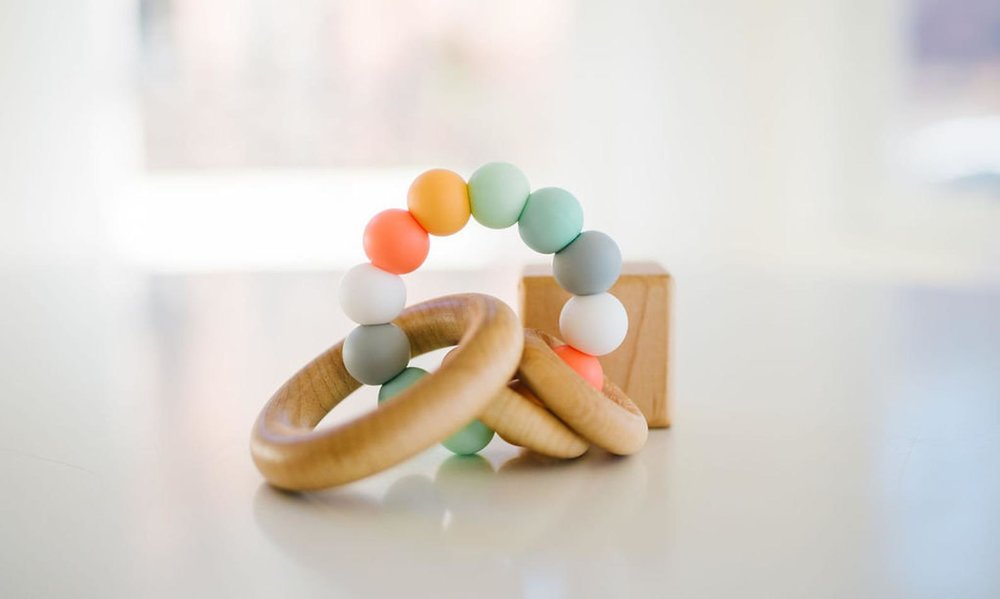 Bannor Saturn Ring Baby Teether By Bannor Toys