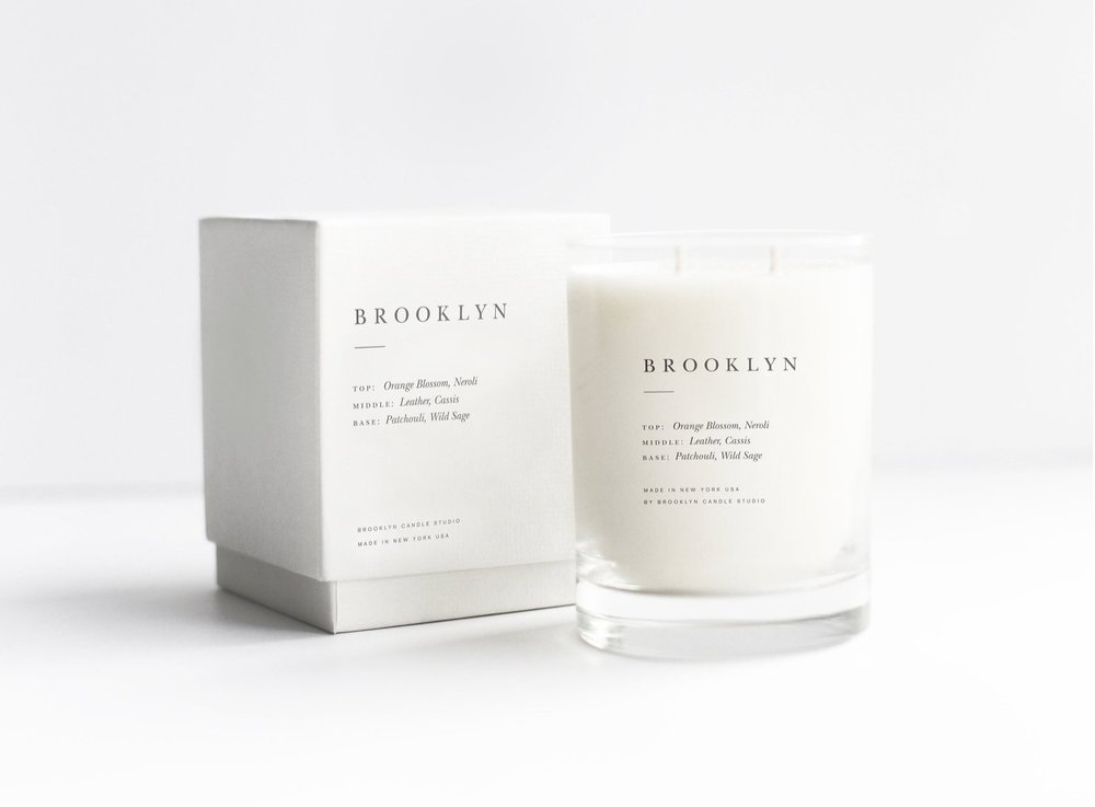 Brooklyn Double-Wicked Luxury Candle By Brooklyn Candle Studio