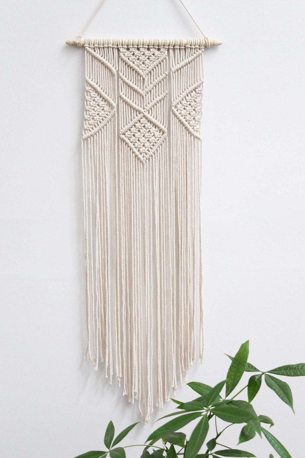 Macrame Wall Hanging By Hazel Candle Co