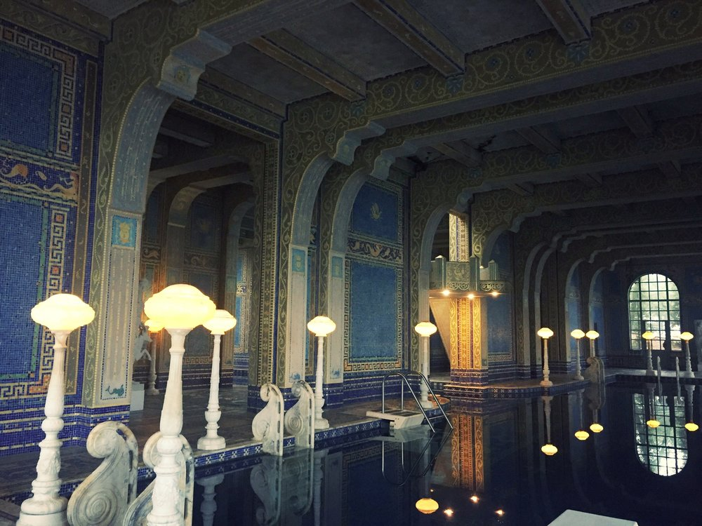 The Roman Pool at  Hearst Castle .