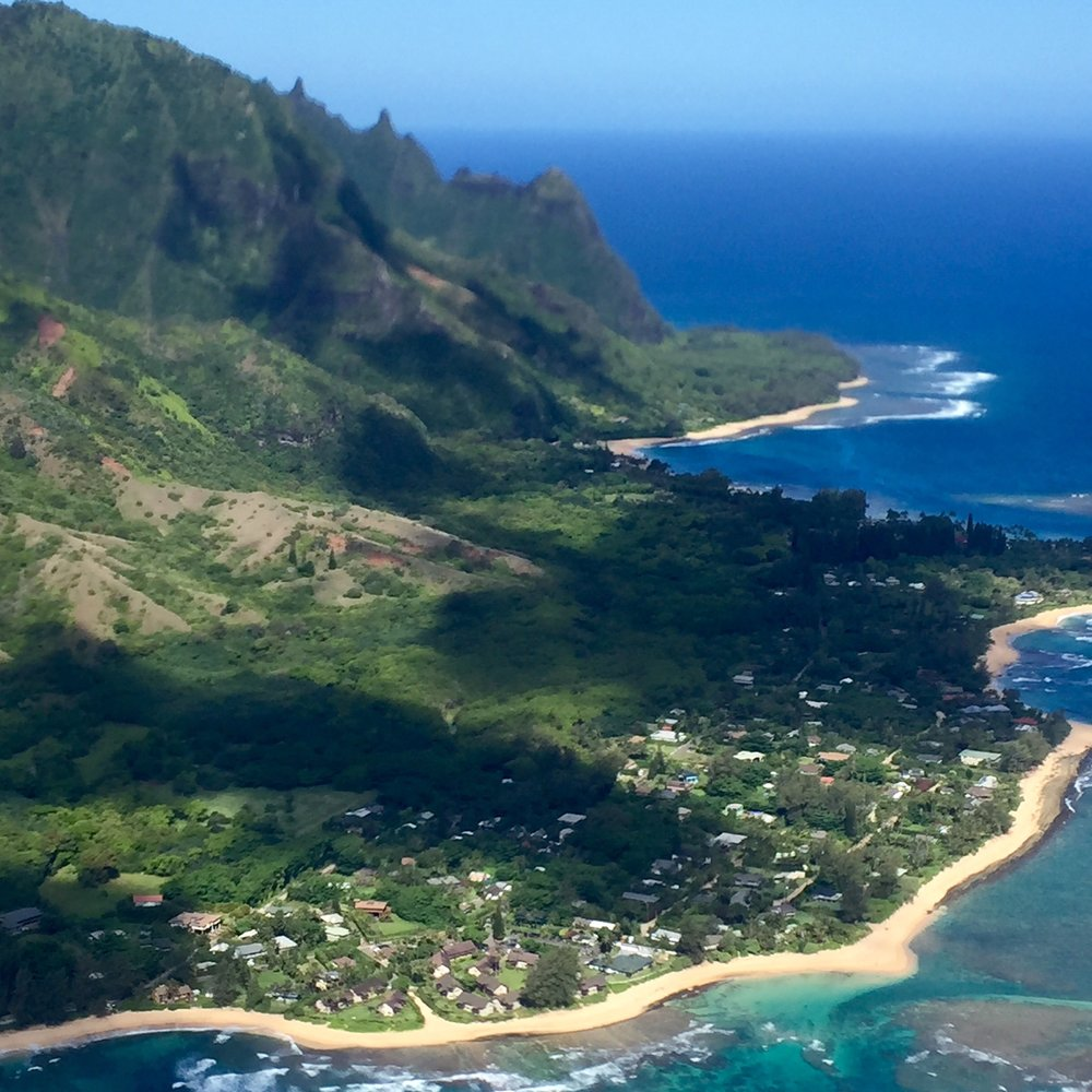 Princeville from above.