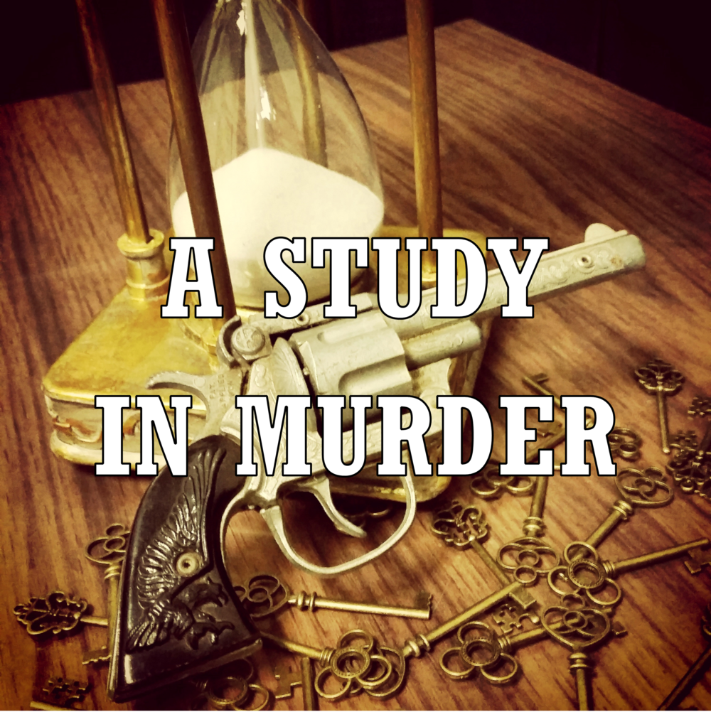 A Study in Murder is a Clue style murder mystery escape game. Players are detectives that must uncover the truth and solve the crime.