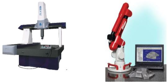 Free-standing CMM Machine                                                             Portable CMM machine