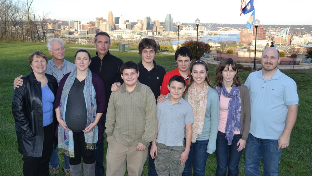 Daugherty family in 2011.
