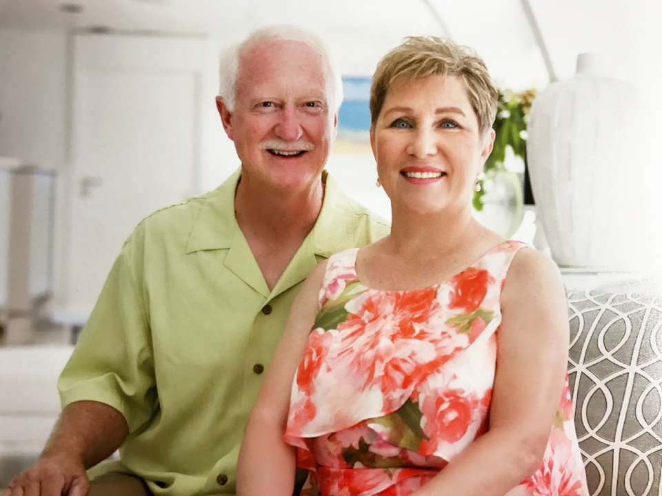 Bill and Vicki Daugherty in 2016
