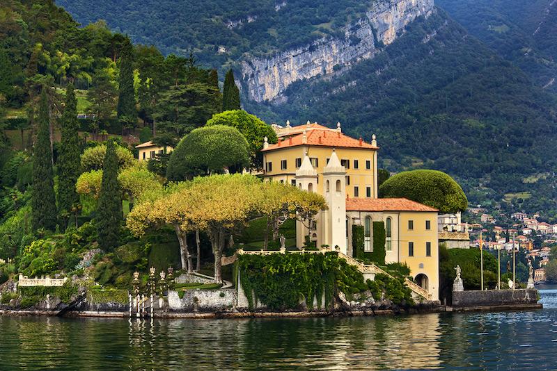 George Clooney, Lake Como