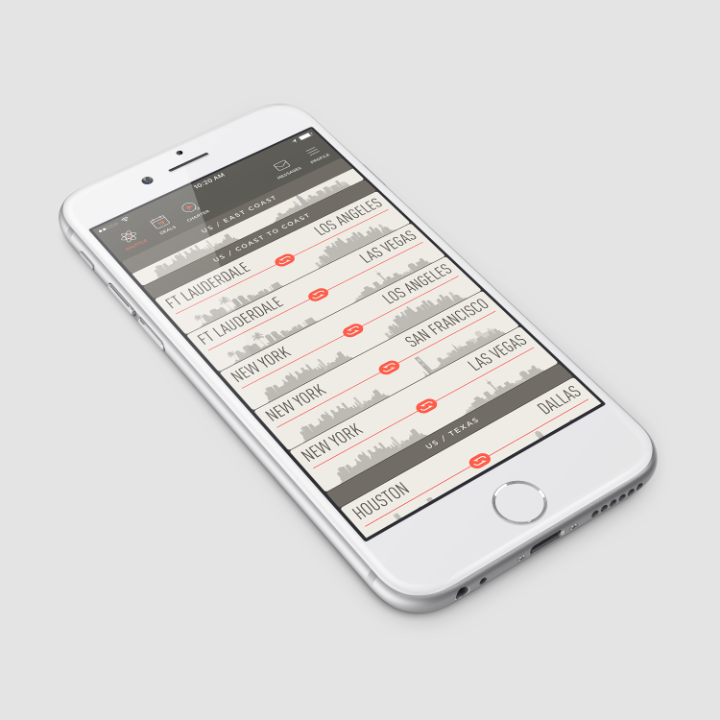 The JetSmarter app allows users to book last minute seats on private jet flights