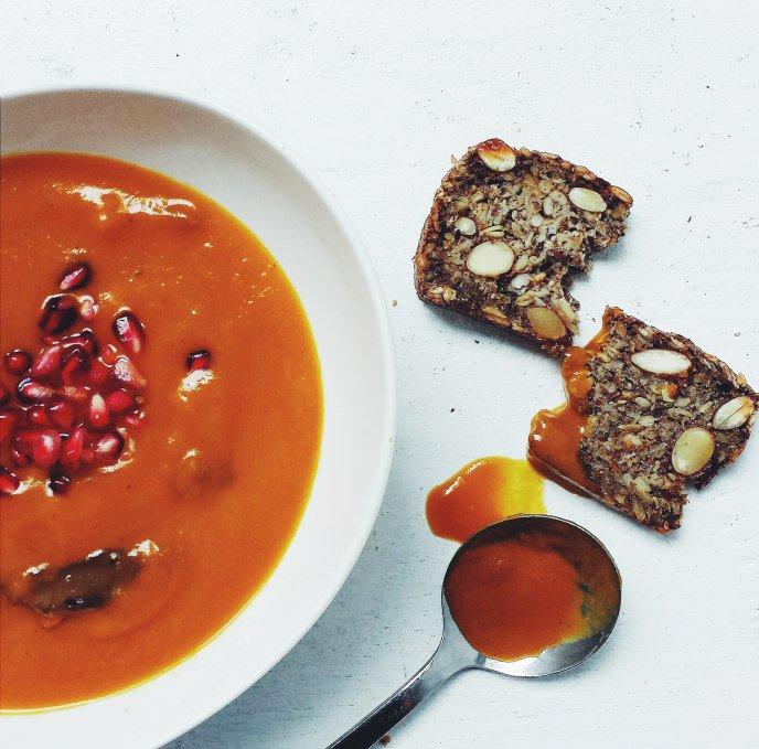 Sakara Life Carrot Soup