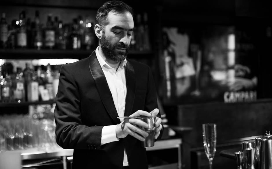 Bartender and drinks maestro Tony Conigliaro