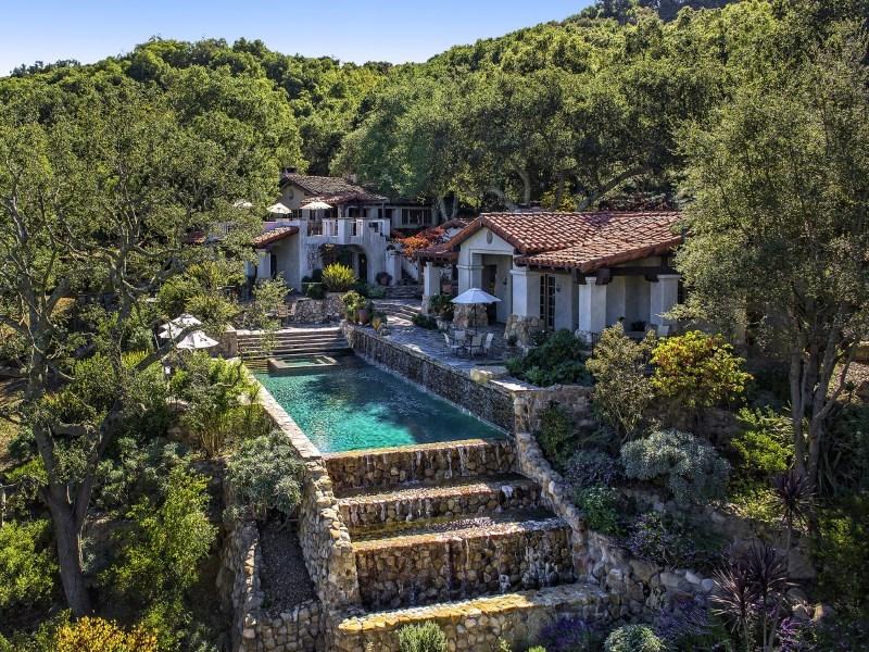 Deer Lodge, a 187-acre property in Santa Barbara, Calif. THOMASPLOCHPRODUCTIONS.COM
