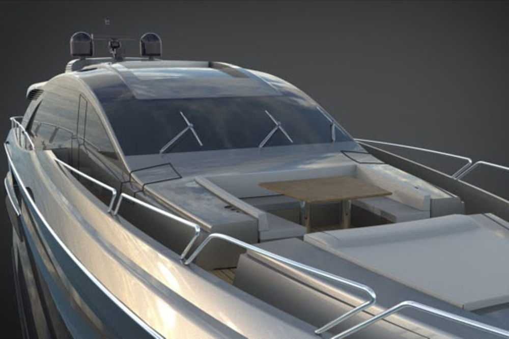 The twin-engine versions of the Gladiator 90 will include Canados custom-made traditional interiors.