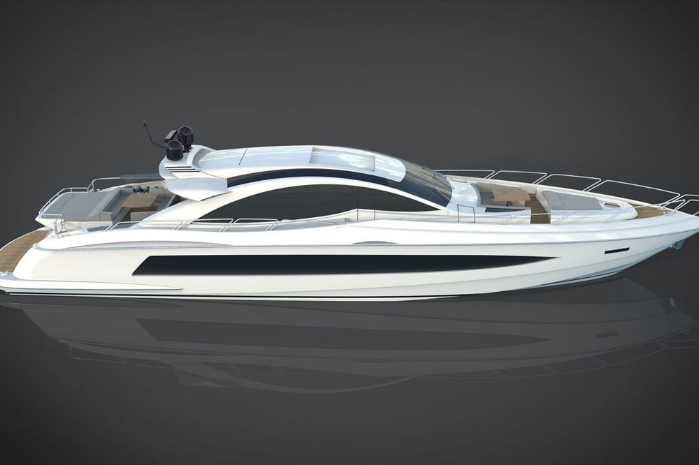 The Canados Gladiator 90 is the fastest open yacht in its size available on the market.