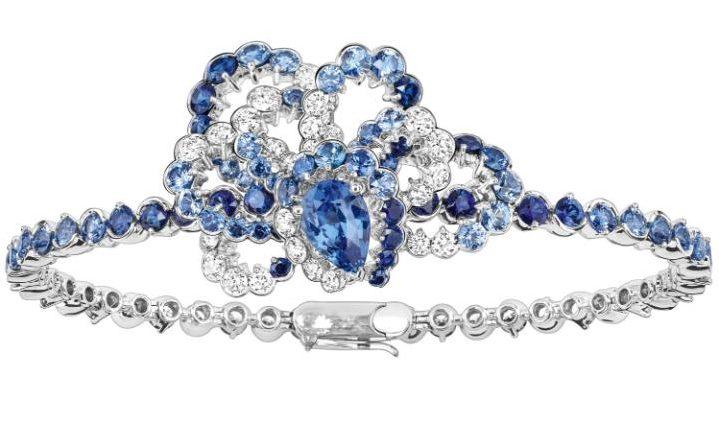 Milieu du Siecle sapphire bracelet by Dior Joaillerie