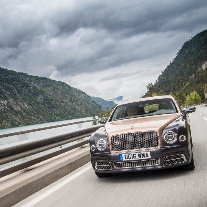 The 2016 Bentley Mulsanne 'Extended Wheelbase'