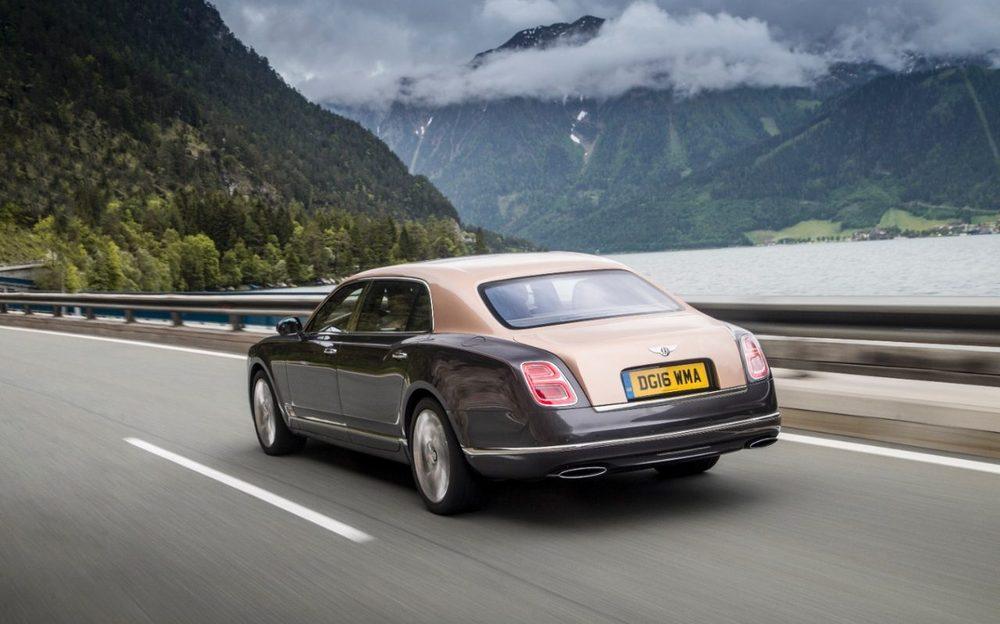 The 2016 Bentley Mulsanne Extended Wheelbase