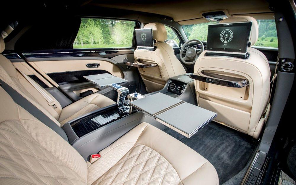 Inside the new Bentley Mulsanne Extended Wheelbase