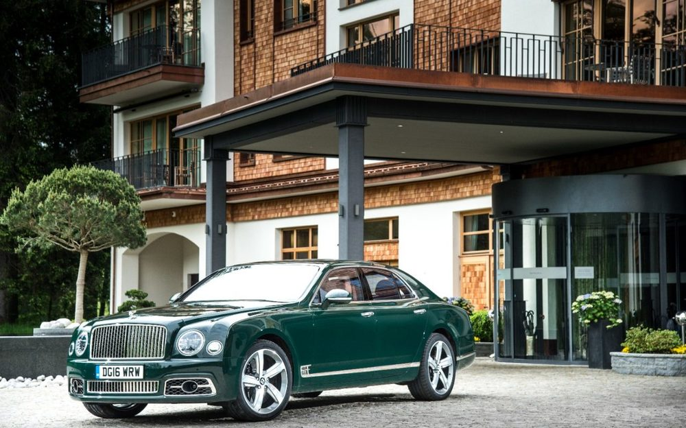The new Bentley Mulsanne Speed