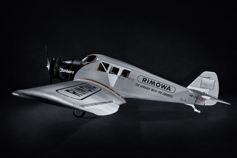 Rimowa's replica of the Junkers F13