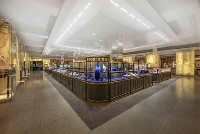 Harrods' renovated Fine Jewelry Room