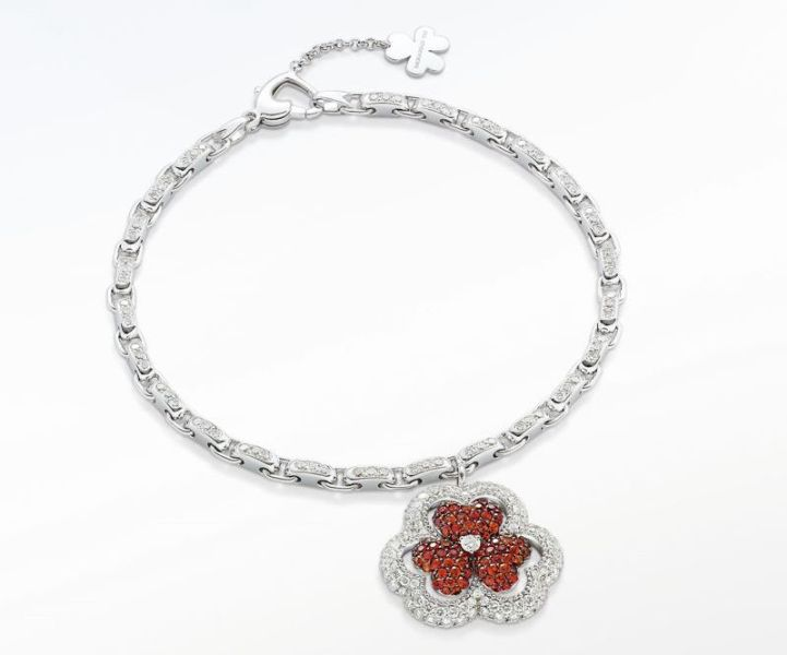 THE MOUAWAD FLOWER OF ETERNITY BRACELET