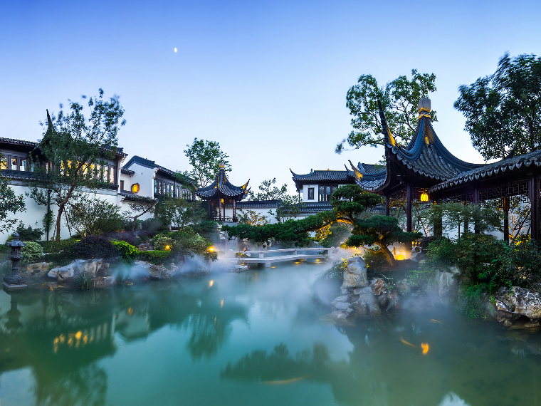 The Suzhou garden home, marketed as 'Taohuayuan,' meaning 'Utopia'. BEIJING SOTHEBY'S INTERNATIONAL REALTY