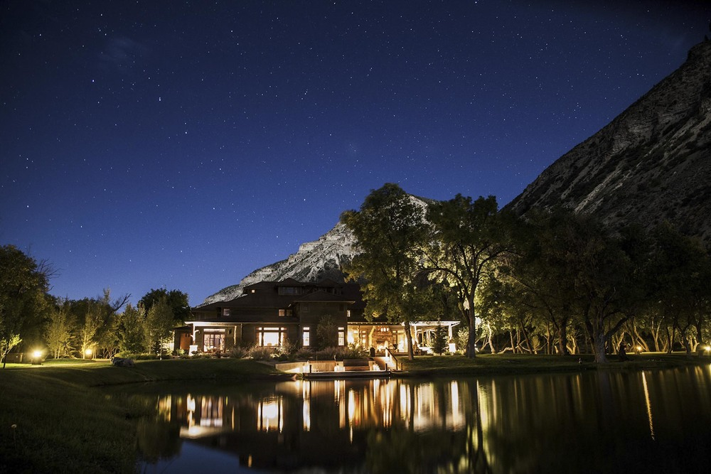 The ranch at night. Source: Sublime Public Relations