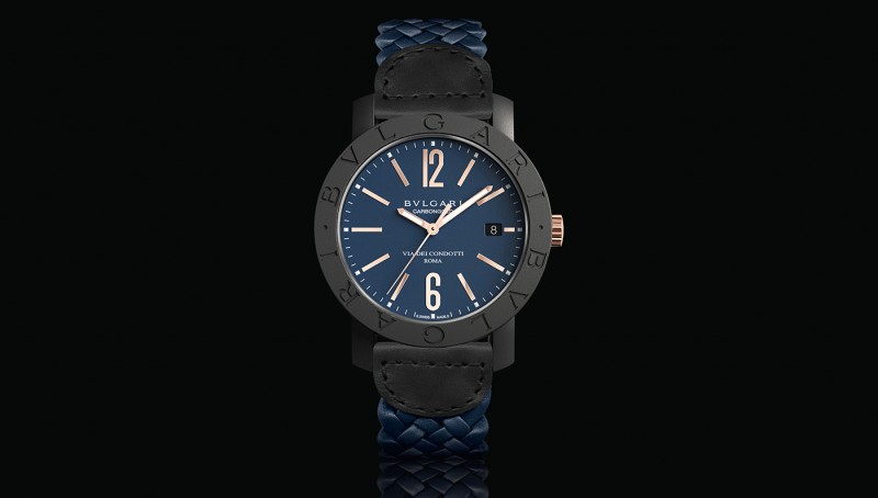 Bulgari Carbon Gold in blue, bulgari.com
