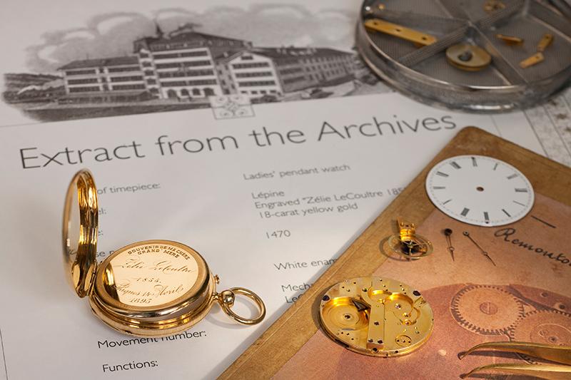 The restored pendant watch.