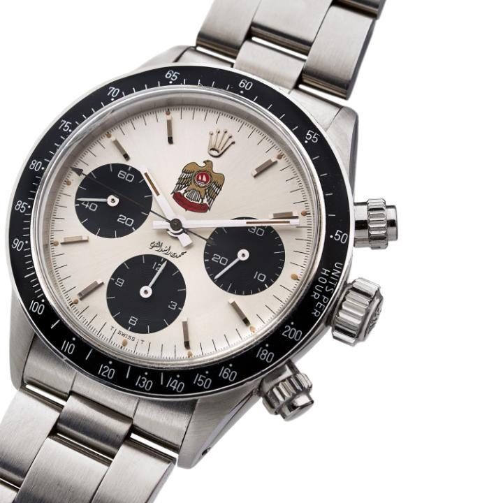 Rolex Eagle Al Makhtoum Daytona, c1973 Credit: Artcurial