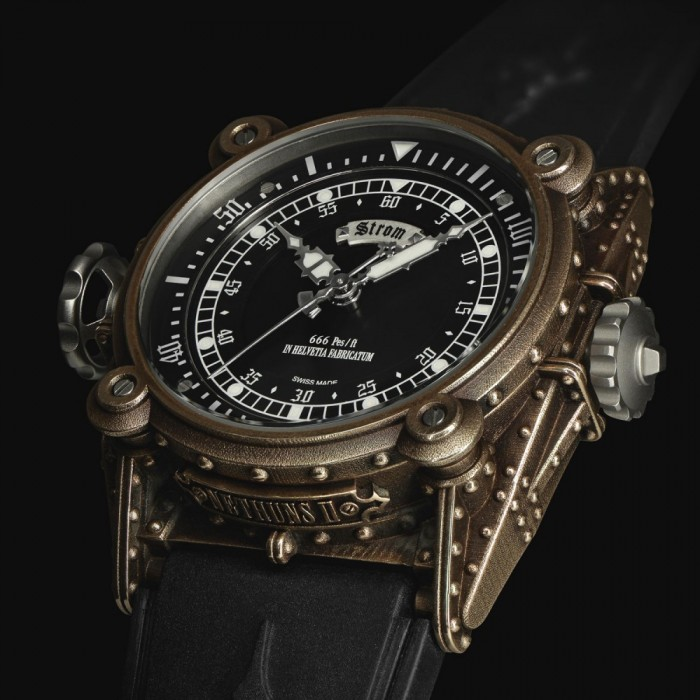 A watchmaker, designer and philosopher, Daniel Strom presents his latest creation – Agonium Nethuns II Diving Watch.