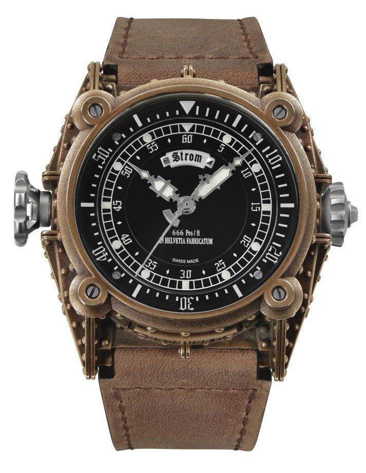 Daniel Strom Agonium Nethuns II Diving Watch in Bronze