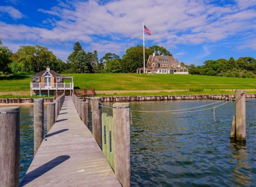 A home that has just been listed for sale in Shelter Island for $32 million. Sotheby's International Realty