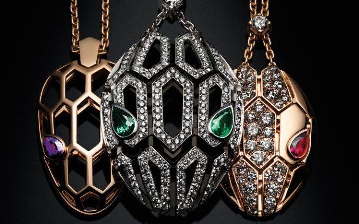 New Bulgari Serpenti High Jewellery pendants Credit: Guido Mocafico