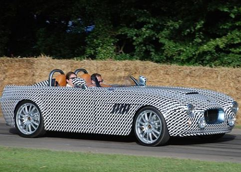 The BULLET was first shown to the public under camouflage at the 2016 Goodwood Festival of Speed. (Image: Wikipedia)