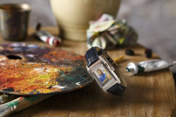 Jaeger-LeCoultre Reverso a Eclipse featuring Van Gogh ´Self Portrait as a Painter´